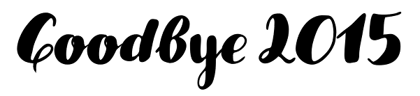godbye 2015
