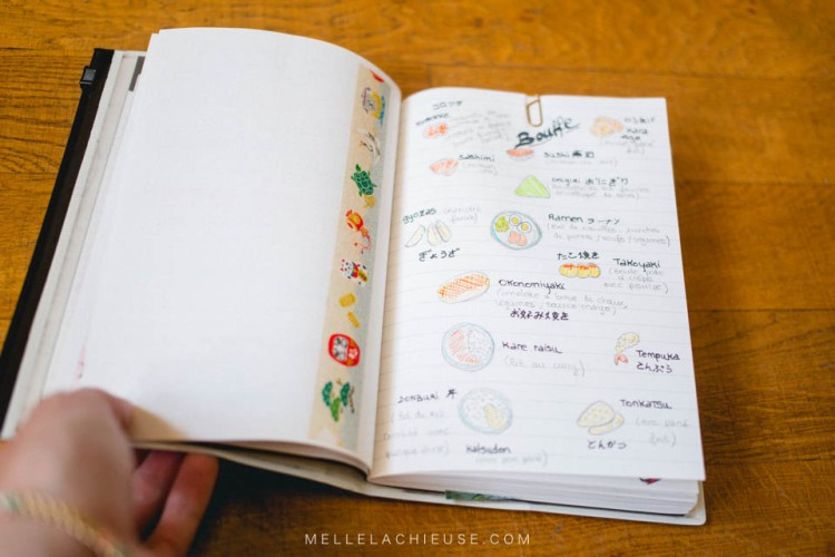 Carnet de voyage travel book japon japan-2