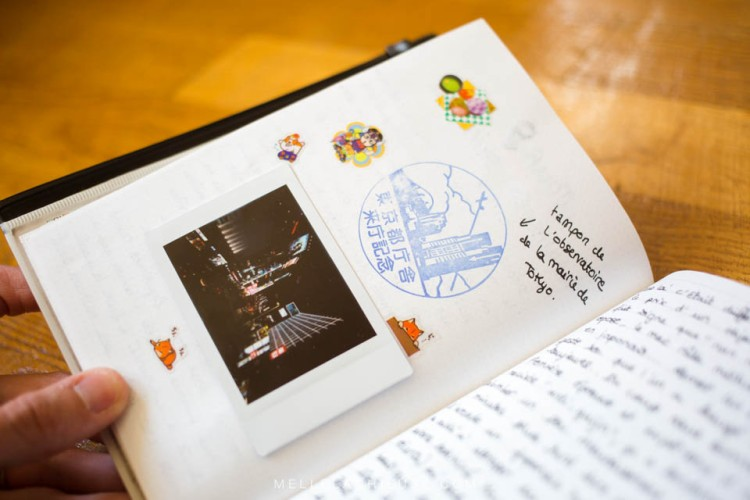 Carnet de voyage travel book japon japan-4
