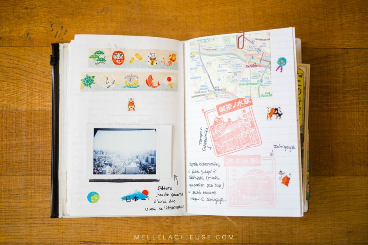 Carnet de voyage travel book japon japan-7