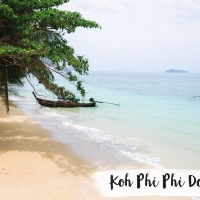 THAILANDE // KOH PHI PHI DON ( partie 1)
