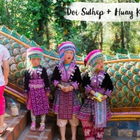 THAILANDE // WAT DOI SUTHEP & HUAY KAEW WATERFALL